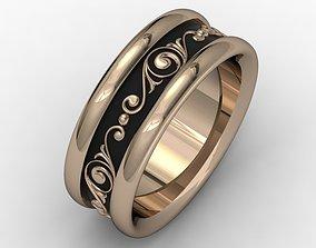 Wedding ring 008 3D printable model