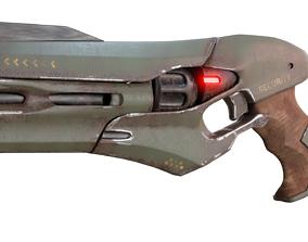 Sci Fi Gun 3D asset VR / AR ready