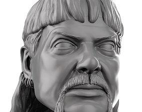 Jo the plain 3D printable portrait sculpt joeexotic