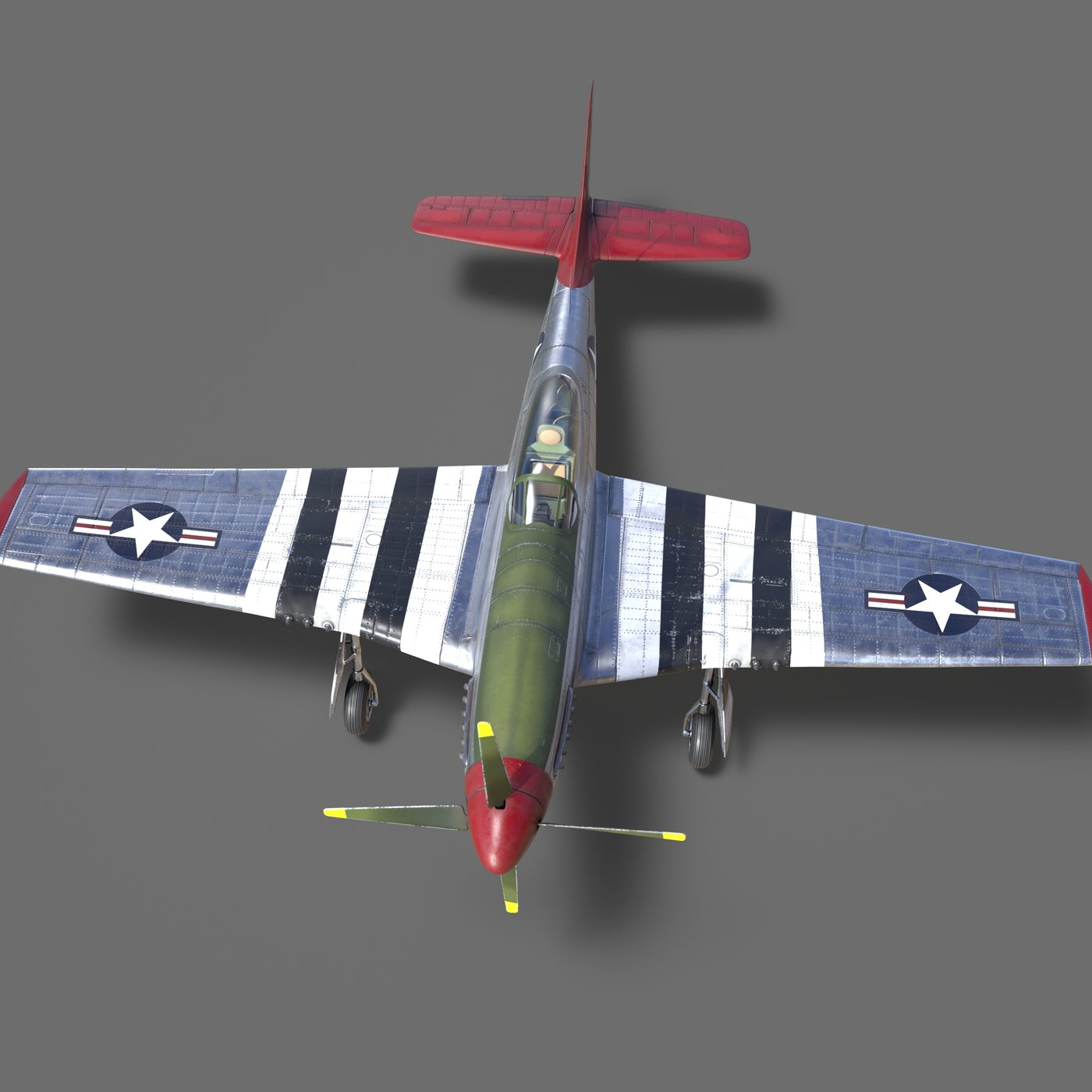 P 51D Mustang - WW2 Fighter Plane