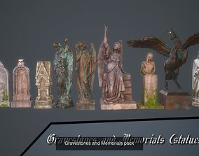 3D Gravestones COLLECTION