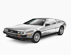 DMC DeLorean 1981 3D model