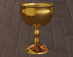 3D Jeweled Goblet