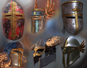Helms pack by Lordische 3D model