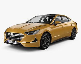 Hyundai Sonata 2020 2013 3D model