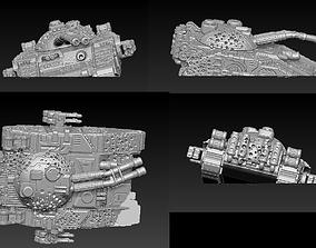 EPIC - ARMAGEDDON SET 3 CRUSHED VEHICLES 3D print model