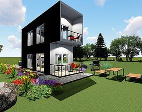 3D Dublex house design