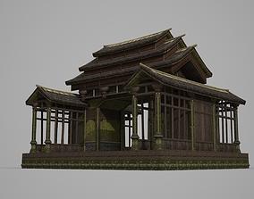 3D model Ancient Architecture Sacrifice Passage Gate