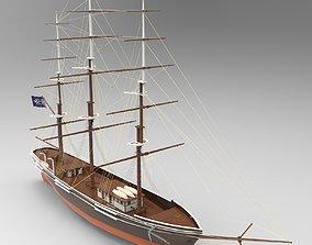 Tall Ship 2 3D