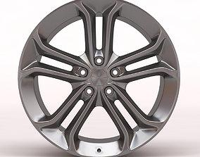 Ford Focus Mk3 ST 250 Alloy Wheel 3D print model