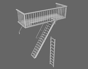 Urban Balcony 3D