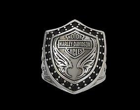 Ring Motor Harley Davidson 3D printable model