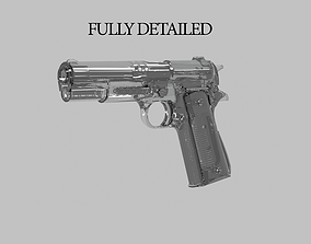 3D asset Colt 1911 M1 Fully Detailed