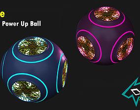 Sci-Fi Powerup Ball 3D model