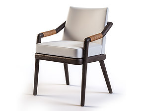 3D model Archer chair by Christian Liaigre