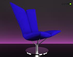 Armchair Angel 3D model