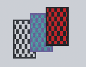 Floor Mat PBR 3D model