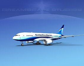 3D Boeing 787-8 Air Pacifica Charter