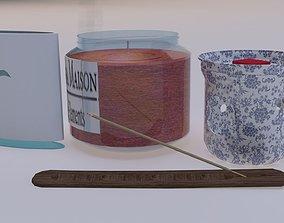 Aroma Pack set 1 3D model