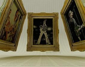 3D model Gold Framing for the Legends artist
