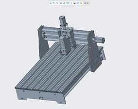 3D print model CNC three-axis engraving machine