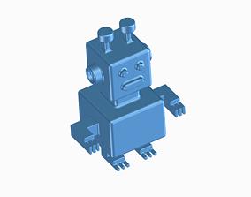 3D printable model plastic Mini Robot -Toy