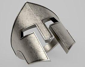 Spartan Helmet Ring 01 3D printable model