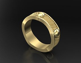 wedding Ring Damiani 3D Print Model