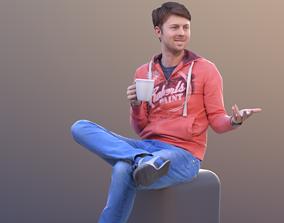 3D model John 10312 - Sitting Casual Guy