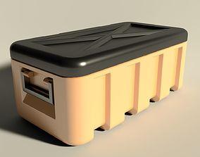 Plastic chest 3D model