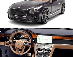 3D Bentley Continental Gt V8 Convertible automotive