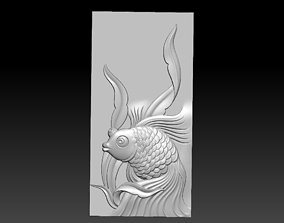 Decoration of goldfish 3D printable model