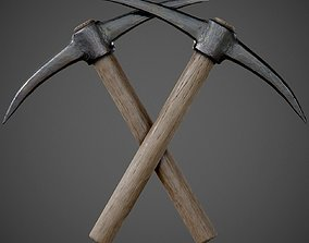 Pickaxe PBR Game-Ready 3D asset