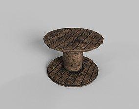 CABLE SPOOL 3D asset