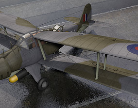 Fairey Albacore Mk-1 3D model military