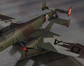 3D model Junkers Ju-86 D-1
