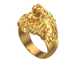 042 - Lion Roar Ring 3D print model