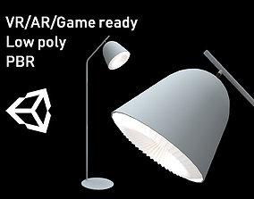 3D asset Le Klint Cache Floor Lamp Lowpoly model