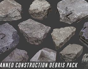 3D model Scanned Construction Debris Pack