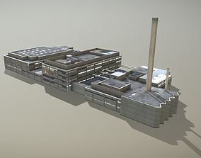 3D model Plant LSZB Bern Factory