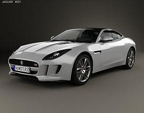 3D model Jaguar F-Type R coupe 2014