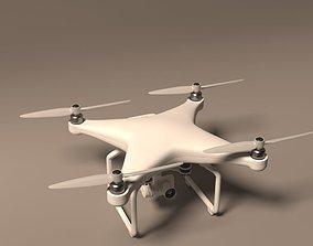 3D asset Realistic drone