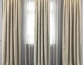 3D Curtain Set 323