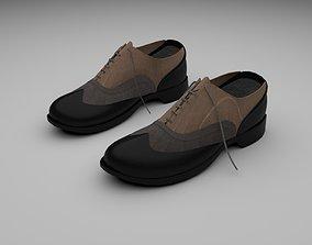 shoes lace 3D model VR / AR ready