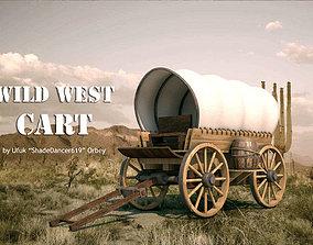 Wild West Cart 3D model