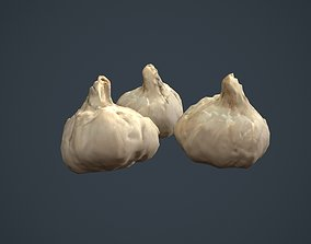 Garlic 3D Scanned Model game-ready