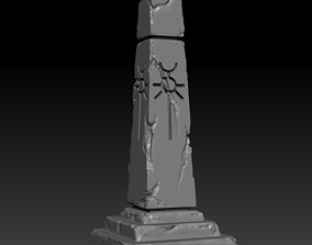 Necron obelisk 3D print model