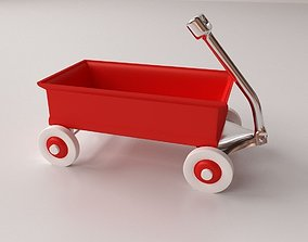 Red Wagon 3D
