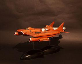 UFO Lunar module and Lunar Carrier 3D printable model