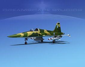 3D model Northrop F-5E Tiger Hellenic
